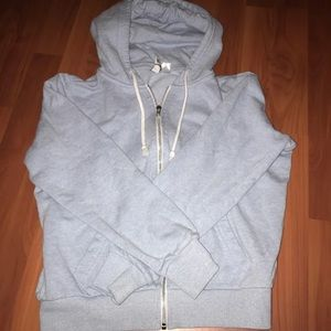 Baby Blue H&M Zip Up